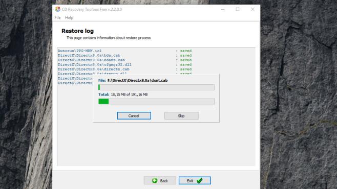 CD Recovery Toolbox Free: Verkratzte CD-Datenträger auslesen ©COMPUTER BILD