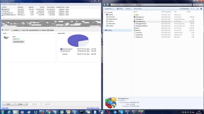 Defraggler: Defragmentierer für bessere Datenstrukturen ©COMPUTER BILD