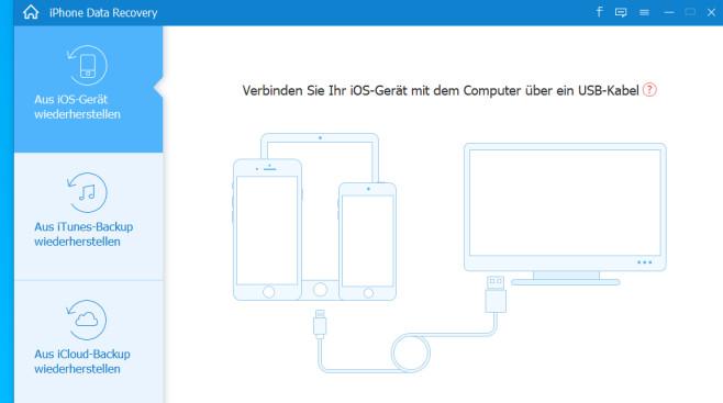 Free iPhone Data Recovery: iOS-Geräte-Daten retten ©COMPUTER BILD