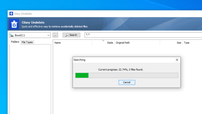 Glary Undelete: Dateien retten ©COMPUTER BILD