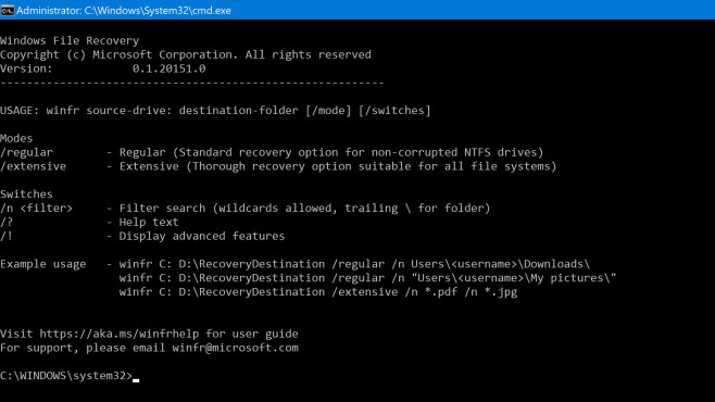 Windows File Recovery: Dateien retten ©COMPUTER BILD