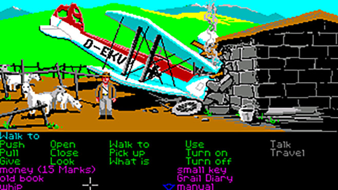 Indiana Jones and the Last Crusade © LucasArts