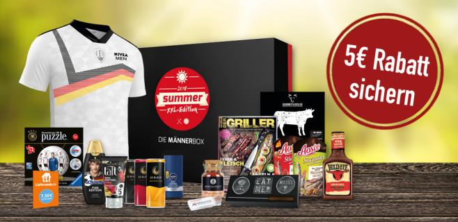 Die Männerbox: Summer-XXL-Edition©COMPUTER BILD