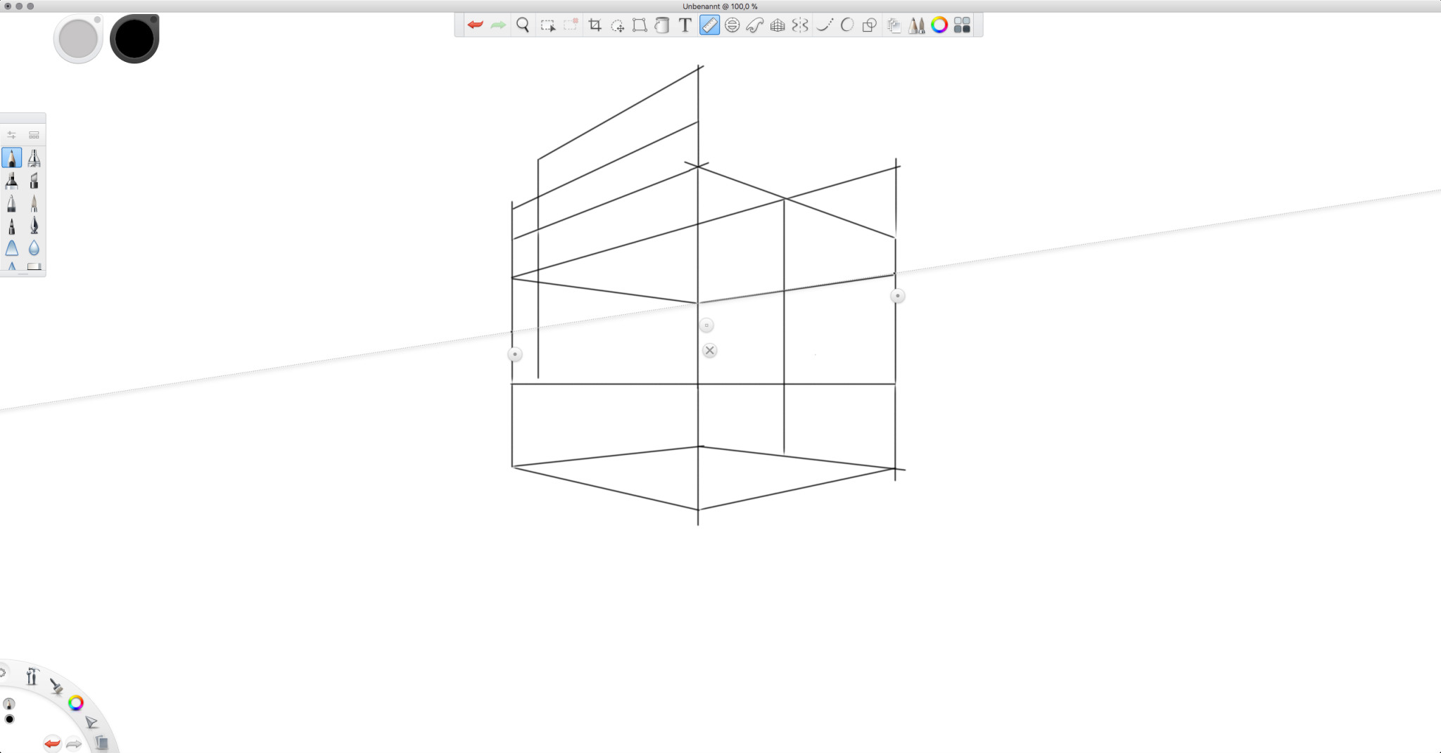 Screenshot 1 - Autodesk SketchBook – Kostenlose Vollversion (Mac)