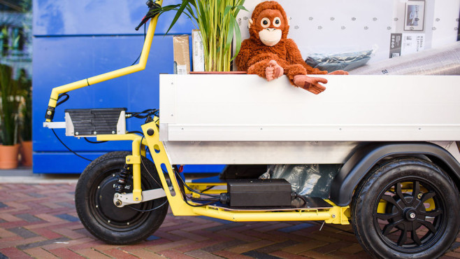 Ikea Anhänger nüwiel: ikea testet elektrischen fahrrad-anhänger - computer bild