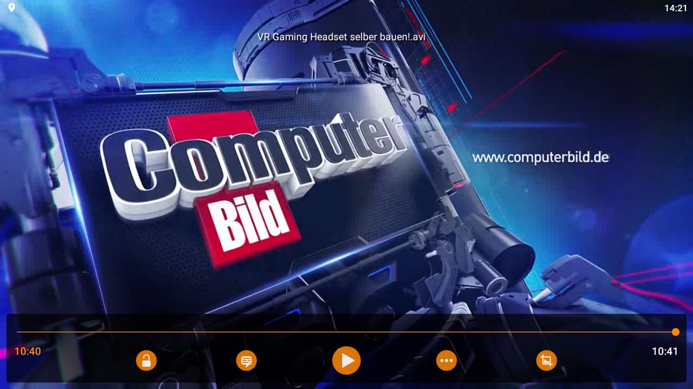 Screenshot 1 - VLC Player für Android (APK)