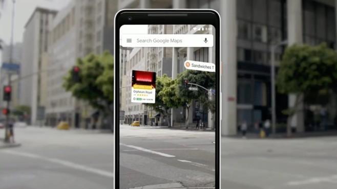 Google Maps mit Google Lens©Google