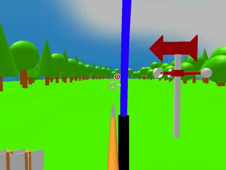 Screenshot 1 - Archery 3D