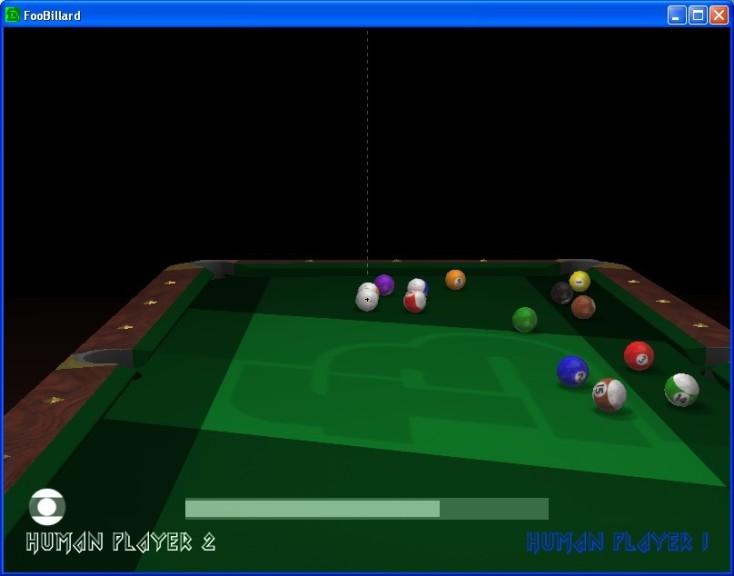 Screenshot 1 - FooBillard