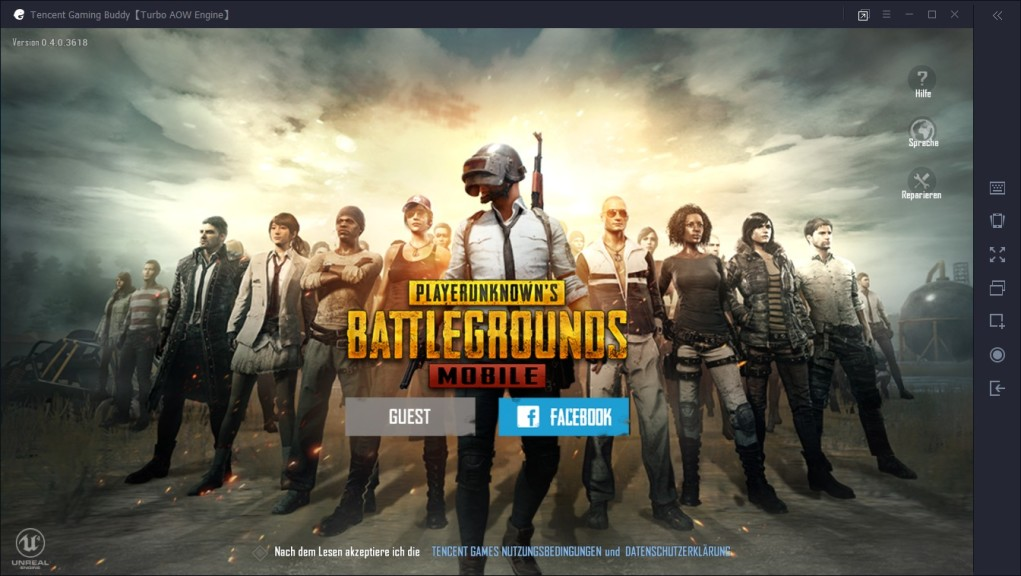 Screenshot 1 - PUBG Emulator