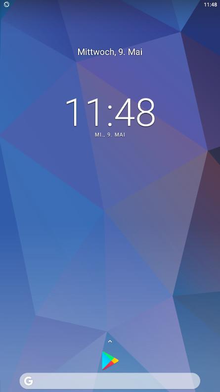 Screenshot 1 - Pixel 2 Launcher (APK)