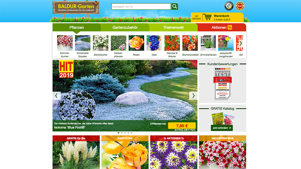 Baldur Garten Günstige Sommerblumen Computer Bild