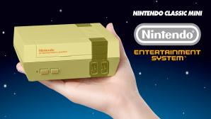 Goldener NES Mini©Nintendo (Montage)