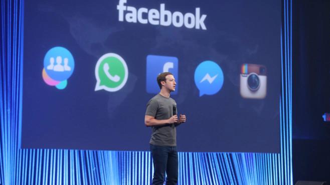 Facebook-CEO Mark Zuckerberg©Facebook