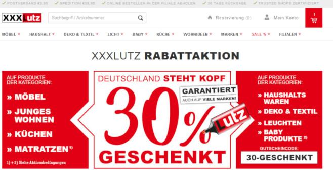 Rabattaktion 30 Prozent Bei Xxxlutz Computer Bild