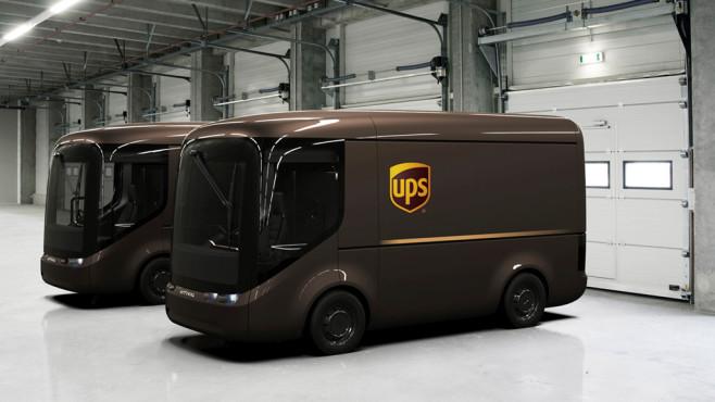 Der neue UPS-eTransporter©UPS