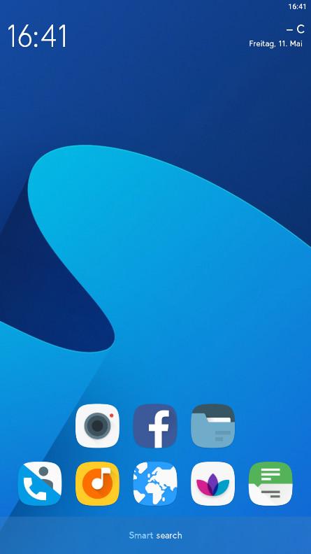 Screenshot 1 - Smart Launcher (Android-App)