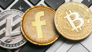 Facebook FaceCoin, Bitcoin©Facebook, ©istock/dimdimich, ©istock/rclassenlayouts