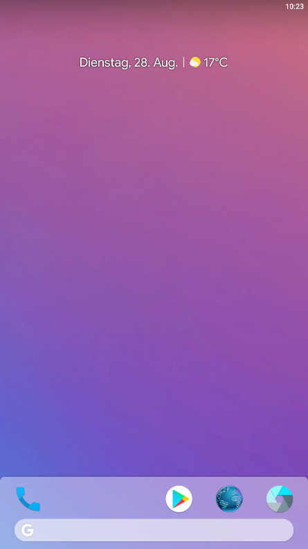 Screenshot 1 - Lawnchair Pixel Launcher 2 (APK)