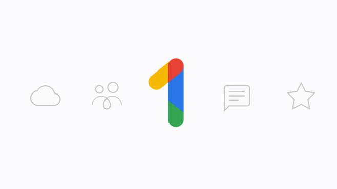 Das Google One Werbebild©Google