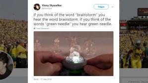 Brainstorm oder Green Needle?©Twitter / Vinny Skywalker