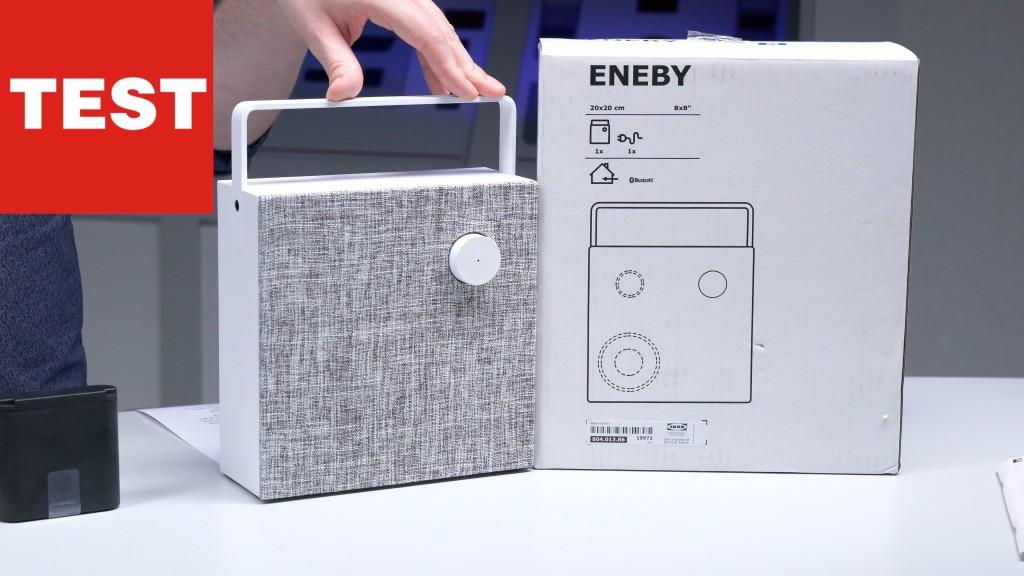 ikea eneby bluetooth lautsprecher im test audio video. Black Bedroom Furniture Sets. Home Design Ideas