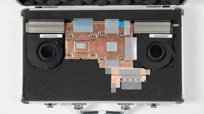 Razer Blade 15 – Kühleinheit im Koffer©Razer