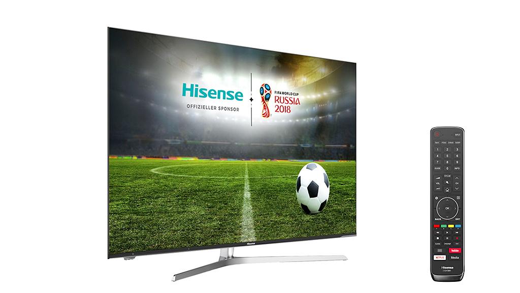Hisense H55U7A: Günstiger 4K-Fernseher im Test