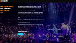VideoDays 2018: Internetseite©videodays.eu