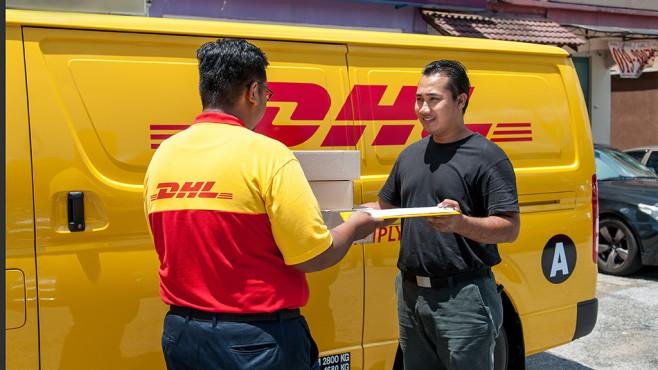 Postlieferung©Deutsche Post DHL Group
