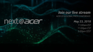 Acers Produktneuheiten 2018 im Livestream©Acer, COMPUTER BILD