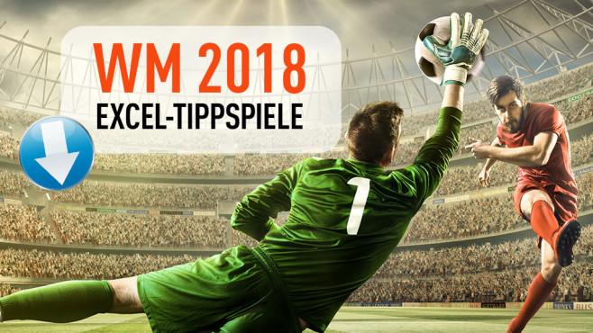 WM 2018 Excel Tippspiel©iStock.com/Dmytro Aksonov