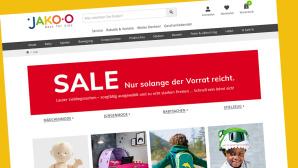 Sale-Angebote bei Jako-o im Onlineshop©Screenshot www.jako-o.com/de