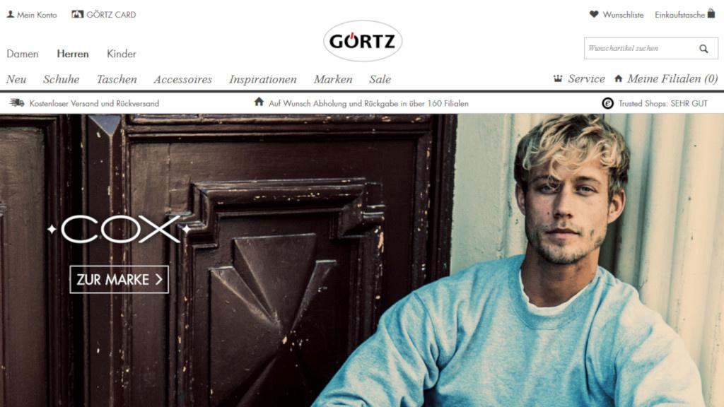 e5c65c091579c0 Gutscheinaktion  Rabatt bei Görtz - COMPUTER BILD