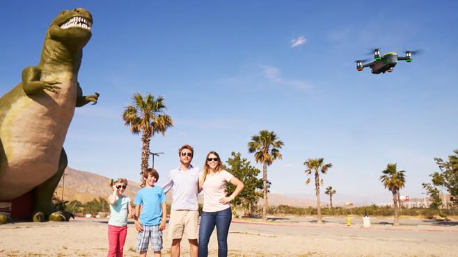 Drohne im Urlaub©DJI