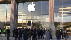 Apple Store in Hamburg Jungfernstieg©COMPUTER BILD