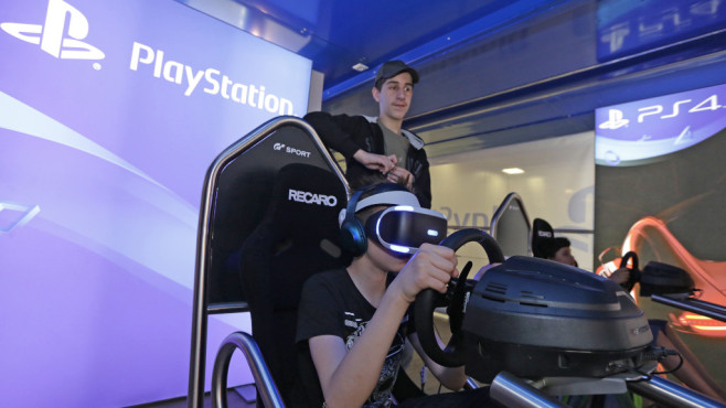 PlayStation in der Gaming Area © YOU