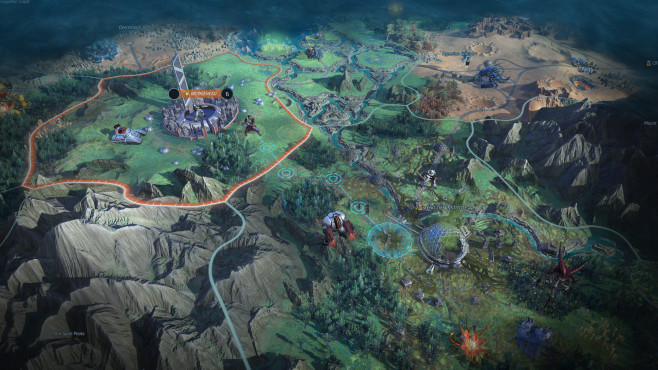 Age of Wonders – Planetfall © Paradox Interactive