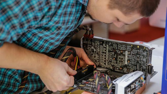 RAM einbauen©COMPUTER BILD