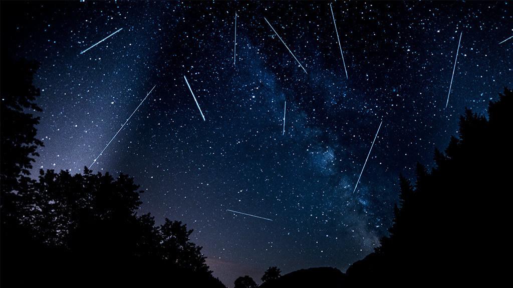 Sternschnuppen nacht 2019