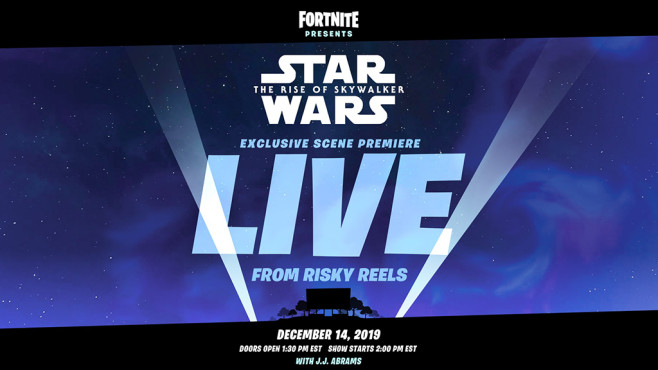 Star-Wars-Trailer in Fortnite©Epic Games