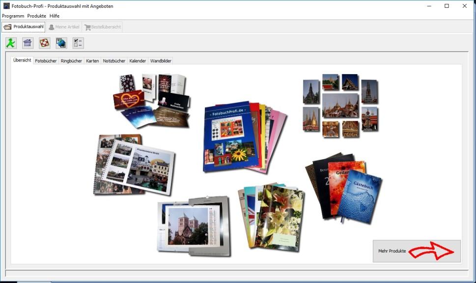Screenshot 1 - Fotobuch-Designer