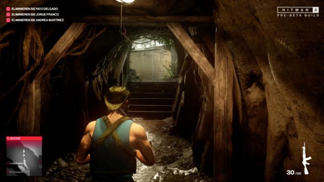 Hitman 2 angespielt: Die Killer-Vorschau! Die Wege zu den Zielen sind vielfältig und führen manchmal auch unter die Erde.©Warner Brothers