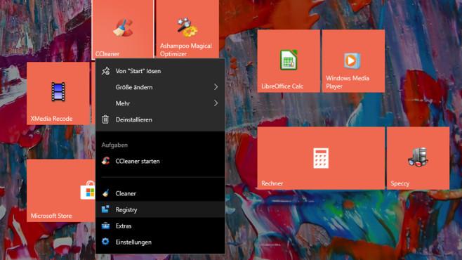 Windows-Jumplists: Programme mit praktischem Kontextmenü©COMPUTER BILD