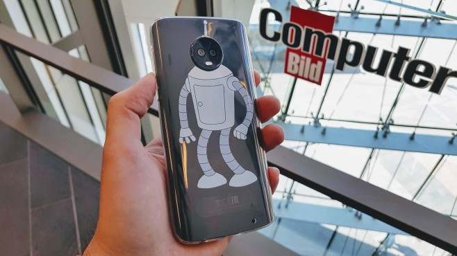 Motorola Moto G6 Plus©COMPUTER BILD/Michael Huch