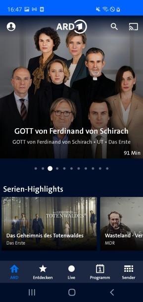 ARD Mediathek (Android-App)