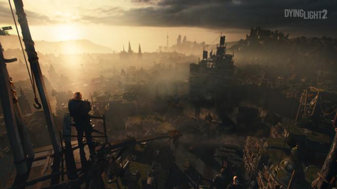 """Dying Light 2: Fortsetzung zum Zombie-Hit kommt! Postapokalypse: """"Dying Light 2"""" spielt 15 Jahre nach dem Ausbruch der Zombie-Seuche in einer fiktiven europäischen Großstadt.©Techland"""