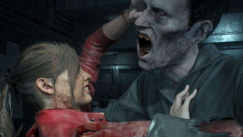 "Resident Evil 2: Das Remake im Test In ""Resident Evil 2"" sind die Zombies los! © Capcom"