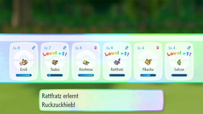 Pokémon – Let's Go: Das Team stärken©COMPUTER BILD SPIELE / Nintendo