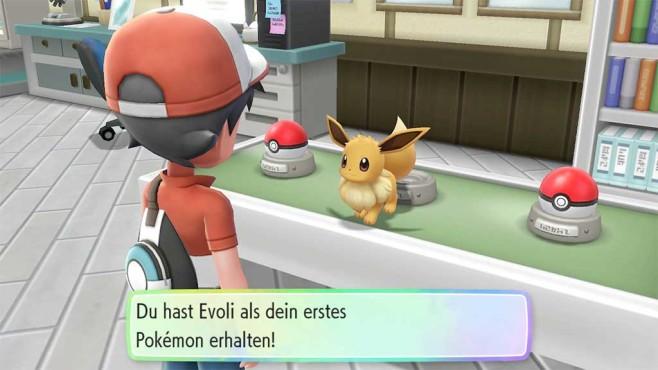 Pokémon – Let's Go: Starter wählen©COMPUTER BILD SPIELE / Nintendo